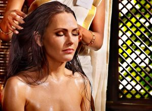 indian head massage - indian champissage treatment
