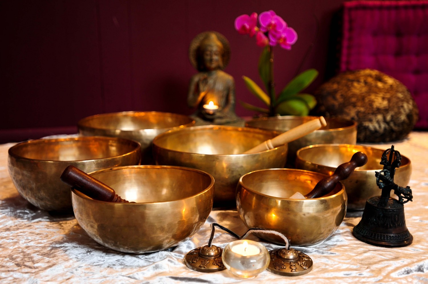 Healing through Sound and Sacred Geometry Retreat, 21st - 28th November, 2016