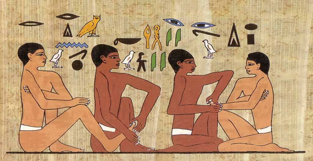 reflexology hieroglyph