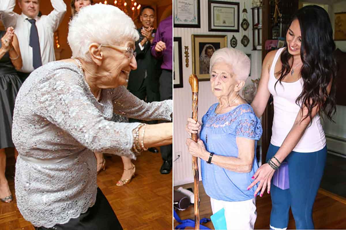 anna pesce - 86 year old yogi