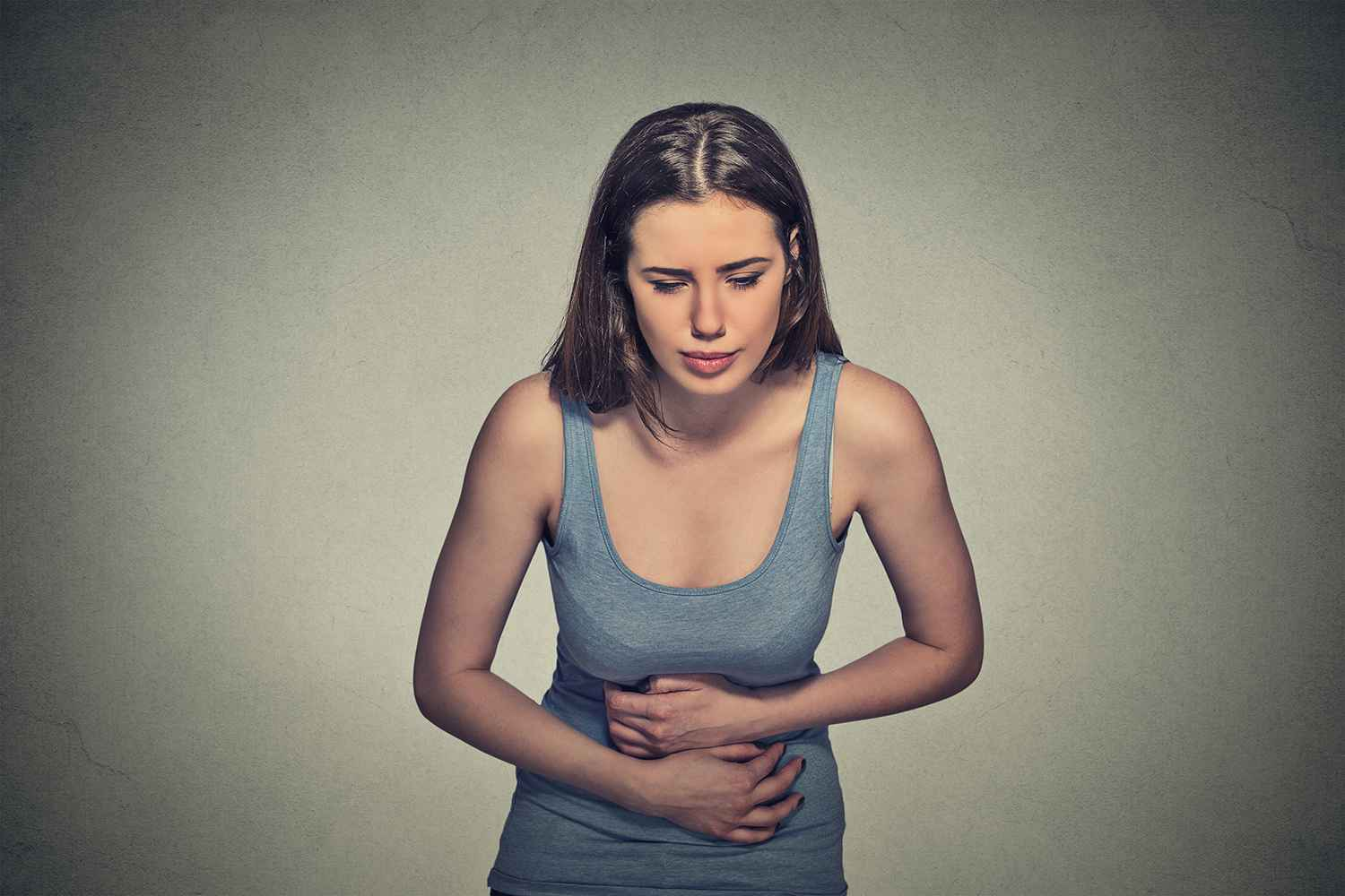 woman having indigestion IBS