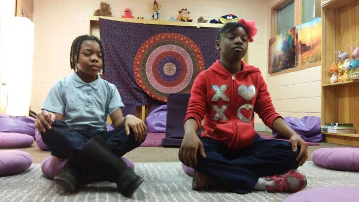 This school replaced detention with meditation and the results are stunning!