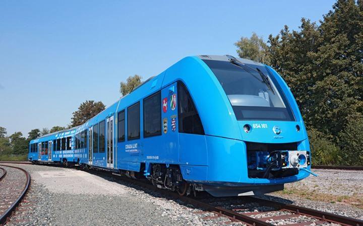 zero emissions hydrogen train