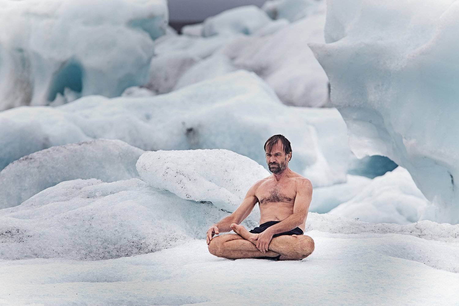 wim hof method ice bath
