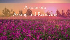 A note on: Asking and Receiving
