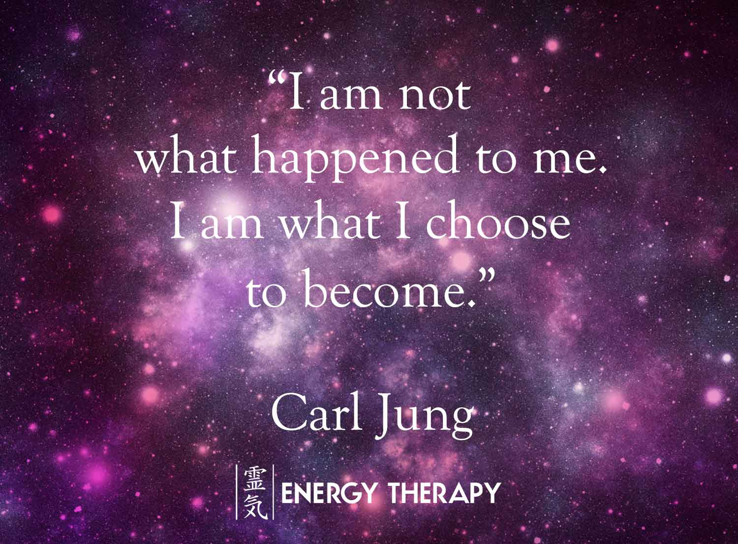 carl jung - i am not what happened to me