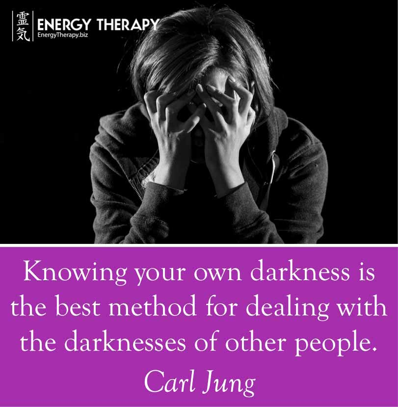 """""""knowing your own darkness is the best method for dealing with the darknesses of other people."""" carl jung"""