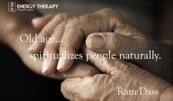 Old age... spiritualizes people naturally.