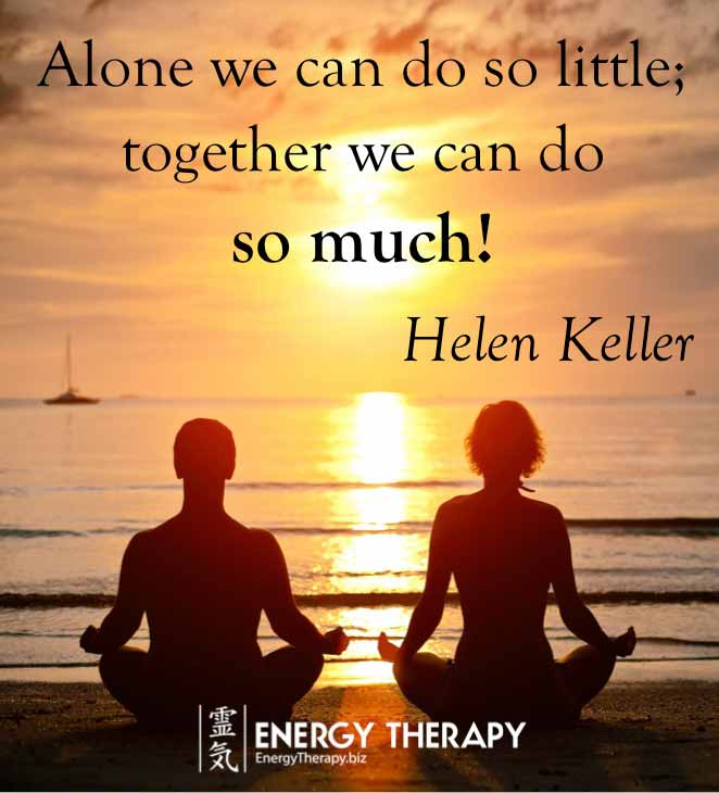 Quotes Together We Can Succeed: Energy Therapy