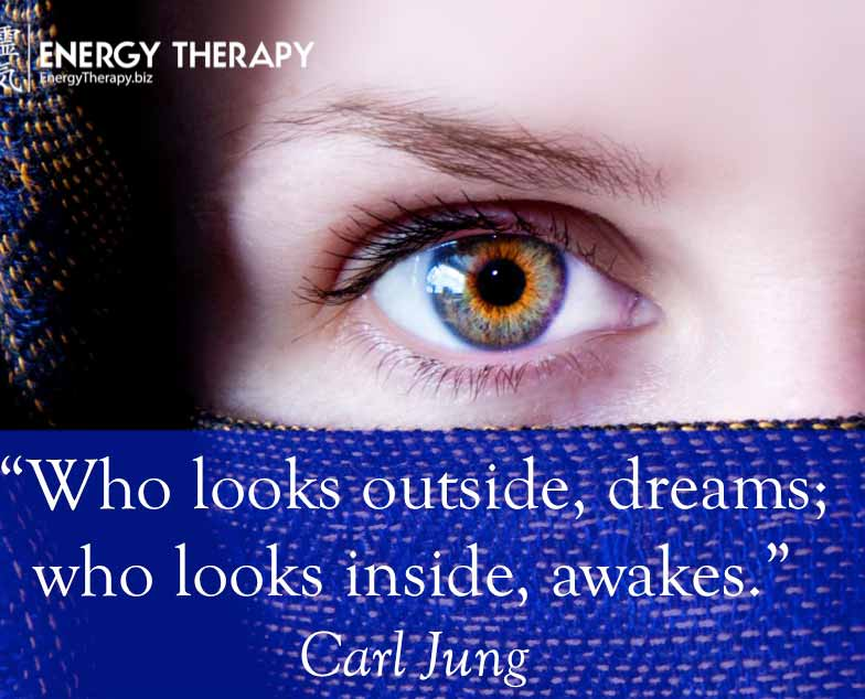 """who looks outside, dreams; who looks inside, awakes."" carl jung"