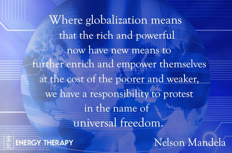globalised world through technology
