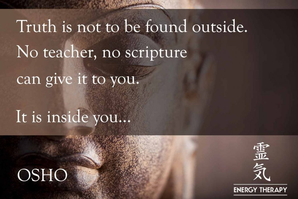 osho - truth is not to be found - opti 10972712