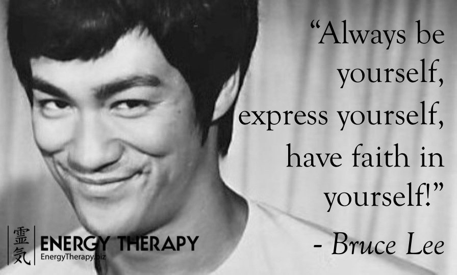 always be yourself - bruce lee