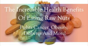 a selection of raw nuts which have anti-cancer properties