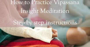 seated vipassana meditation