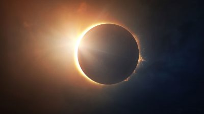new moon and solar eclipse