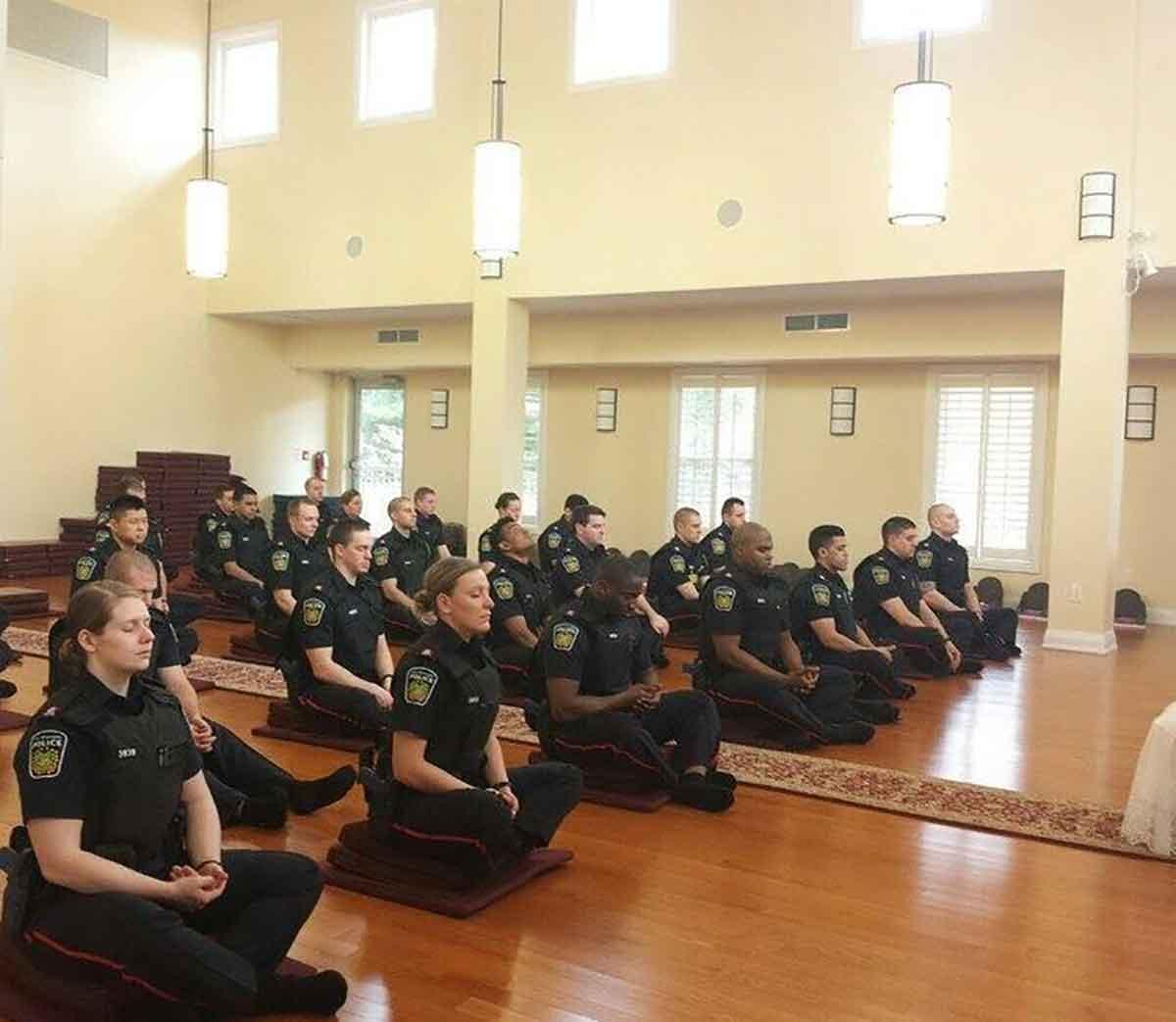 peel police meditating