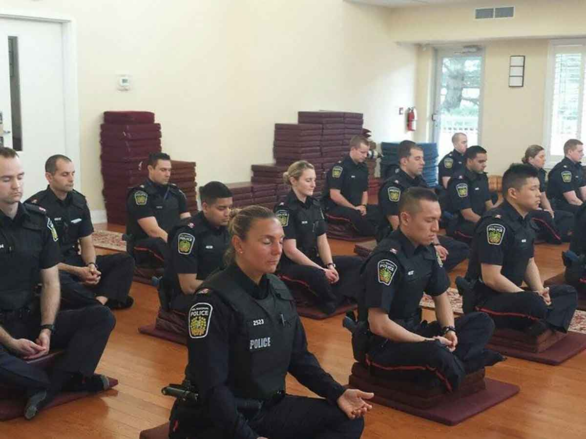 This Canadian Police Force has Started Meditating