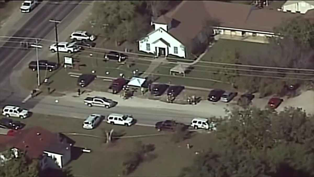 sutherland springs church, AFP