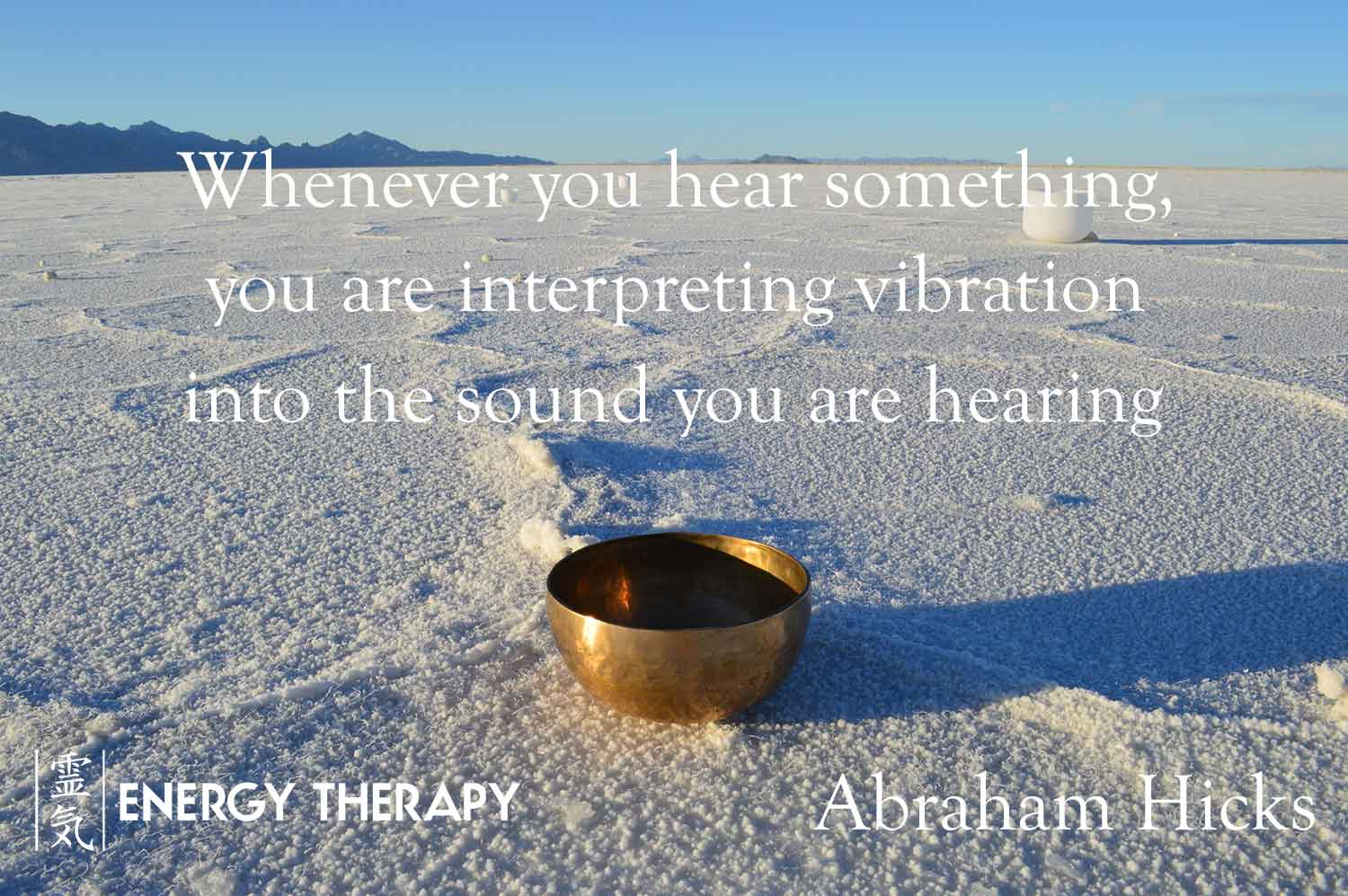 abraham hicks- whenever you hear something