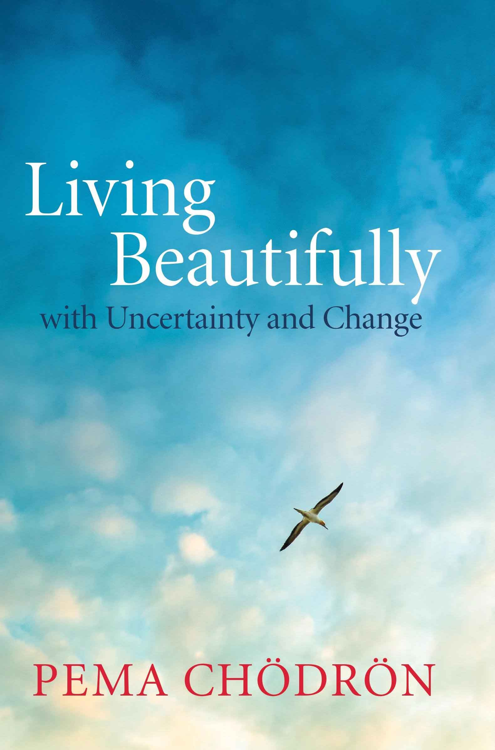 living beautifully with uncertainty and change - book cover