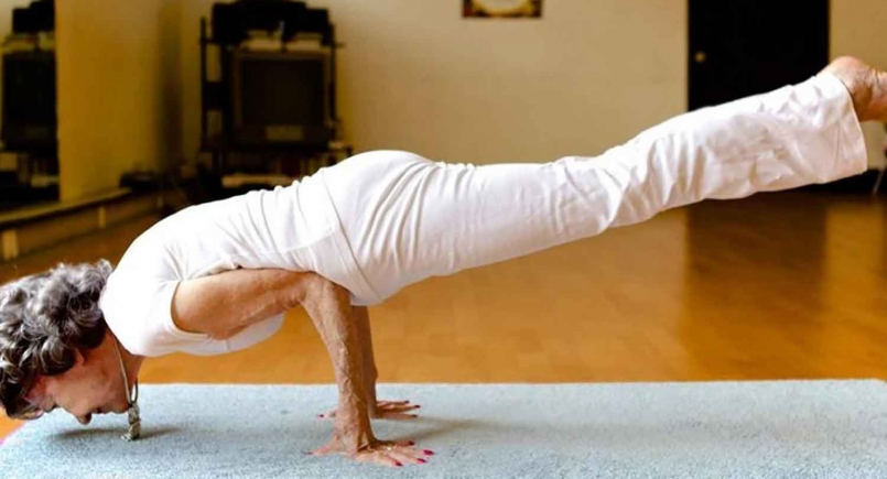 'The joy of living is right inside you'! World's oldest yoga instructor, 99, shares her top tips for a long, healthy and successful life!