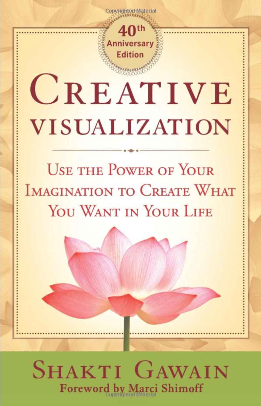 creative visualisation book cover