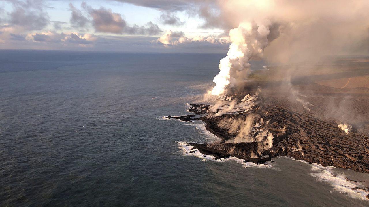 Kilauea Volcano – AP Image