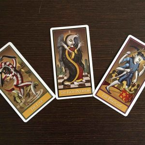 tarot: major arcana mini spread