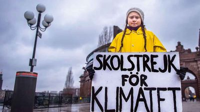 1.4 million people take part in school strikes to stop irreversible climate change