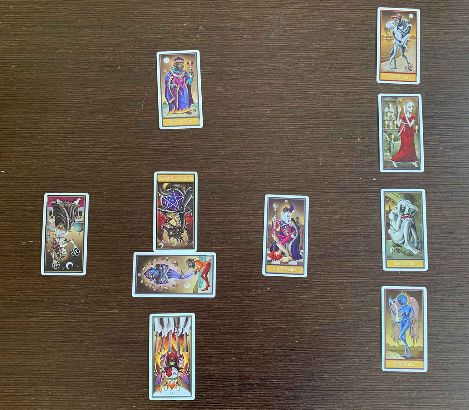 Tarot and Archetypes: Introduction to reading a 'spread'