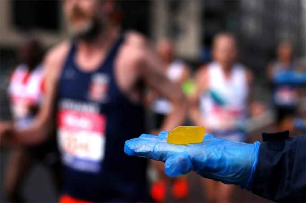 london marathon edible pods