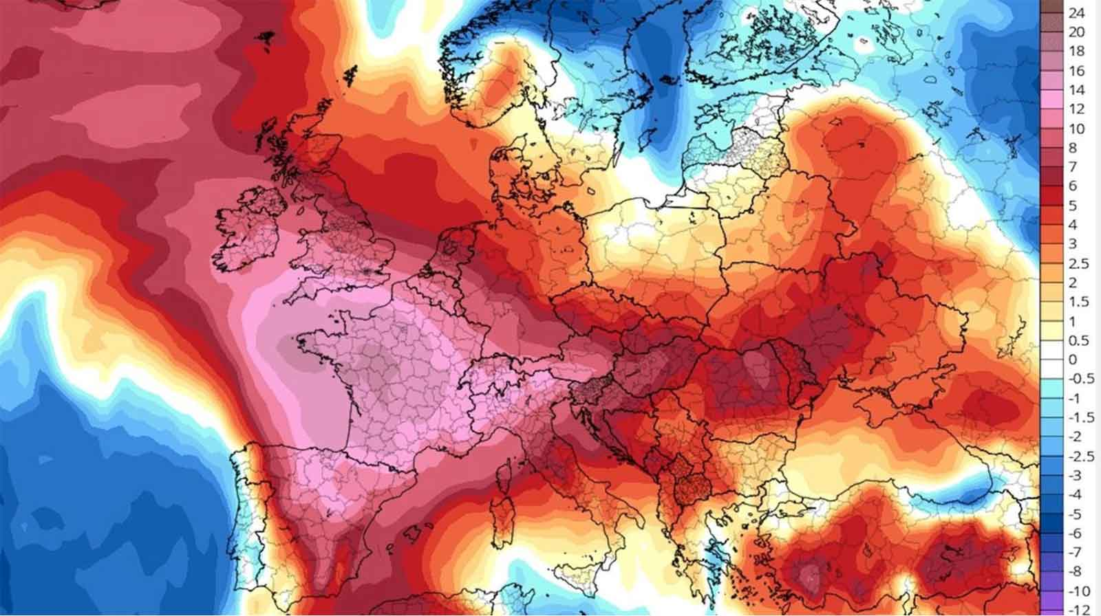 Intense Heat Wave Hits Northern Europe