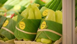 Banana Leaves Have Replaced Plastic Packaging In Asian Supermarkets