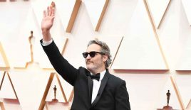 Joaquin Phoenix slams dairy industry in his Oscars speech