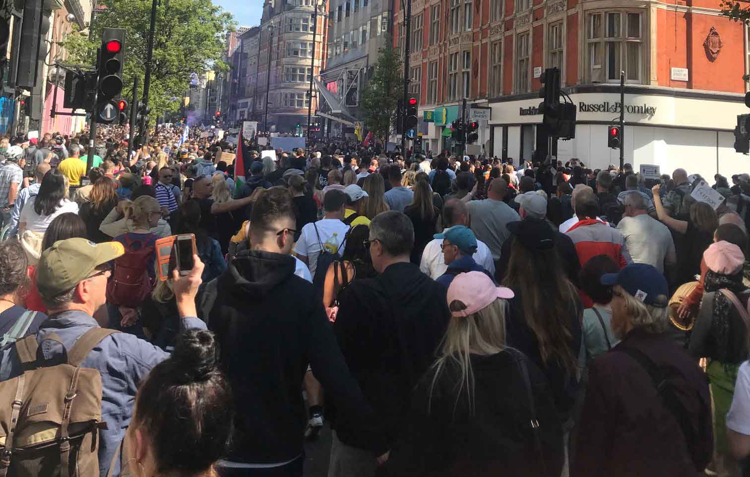 1 Million March For Medical Freedom In London, England! Mainstream Media Almost Totally Silent.