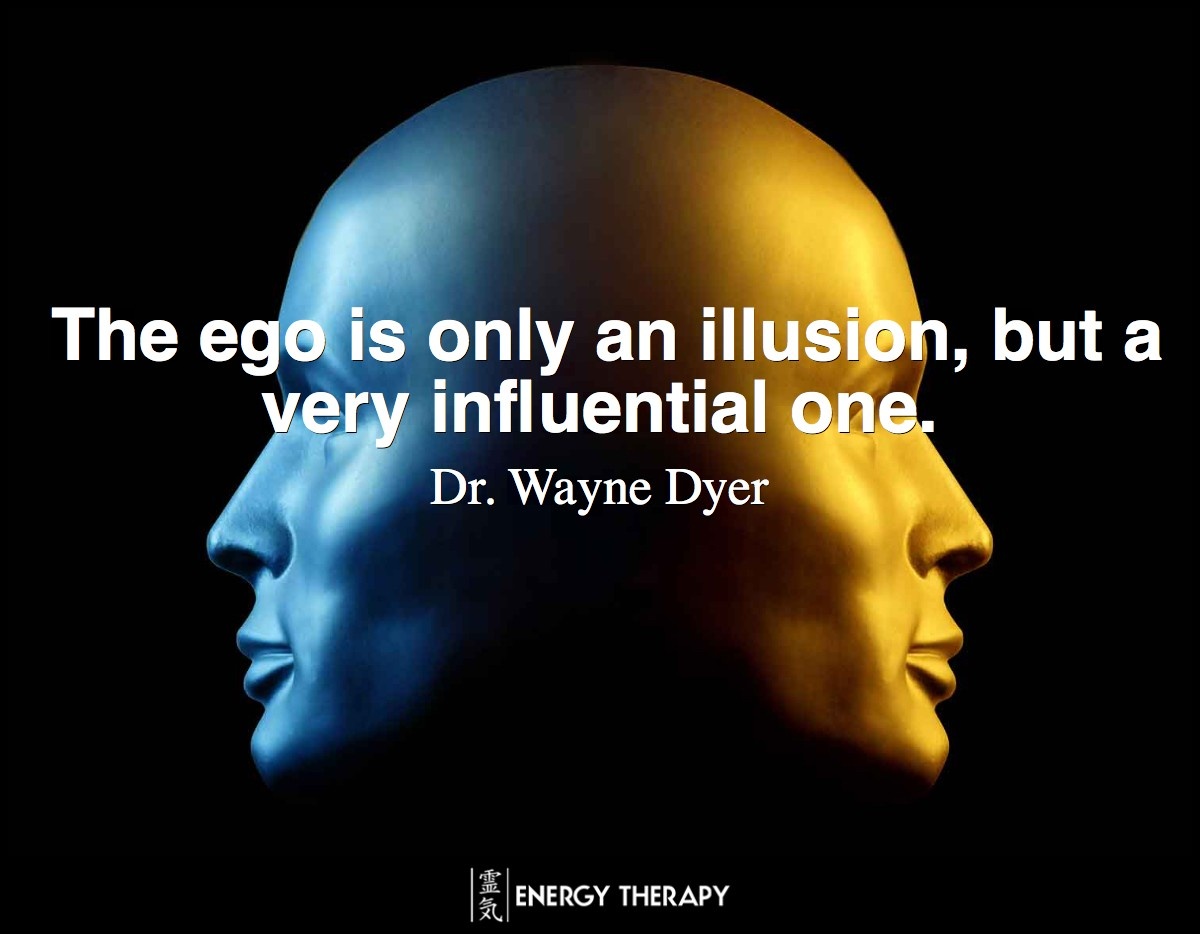 The ego is only an illusion, but a very influential one.